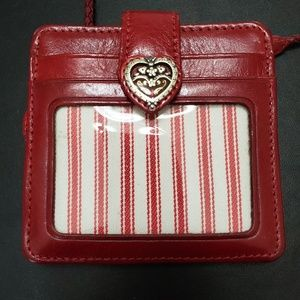 Brighton red leather wallet/purse